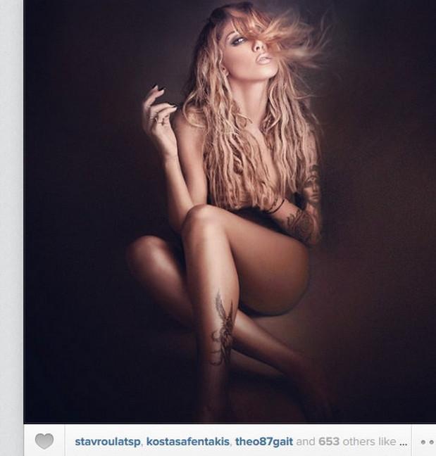 Η Αγγελική Ηλιάδη αναπληρώνει το κενό στο Instagram με μια ολόγυμνη φωτογραφία!