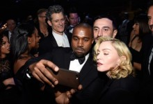 O Kanye West και η Madonna ποζάρουν για την υπέρτατη selfie!