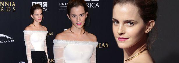 Έκλεψε τις εντυπώσεις η Emma Watson στα βραβεία Britania! Δείτε την
