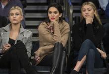 Η Kendall Jenner πήρε 2 φίλες της μοντέλα και πήγαν να δουν ..μπάσκετ!