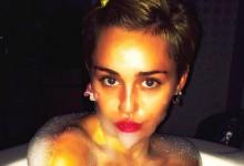 Η Miley Cyrus προκαλεί με βίντεο και φωτογραφία μέσα από τη μπανιέρα της!