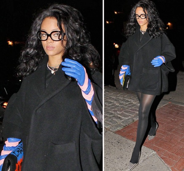 rihanna-gloves-chevron-pink-blue-glasses-chanel-102114