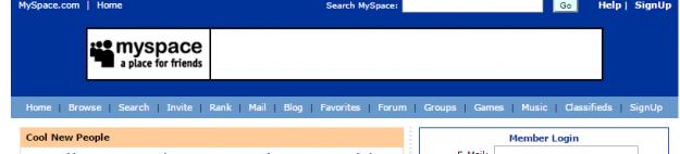 MySpace.com   a place for friends