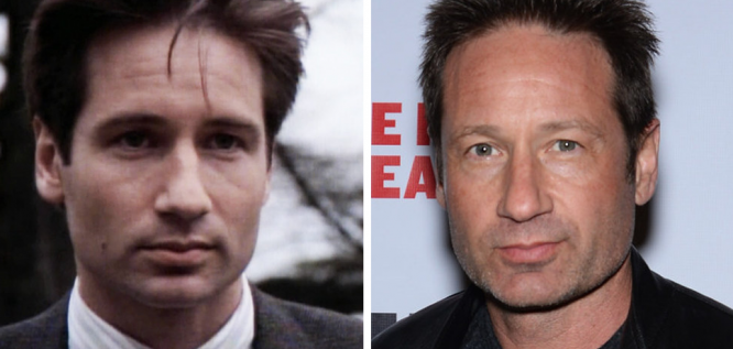 The Cast Of  The X Files  Then And Now