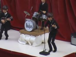 Oι Beatles…ζωντανεύουν και γίνονται μαριονέτες στην Ισπανία! Δείτε το video
