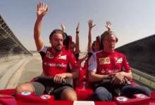 Το γρηγορότερο τρενάκι του κόσμου δεν συγκινεί τον Kimi Raikkonen! BINTEO