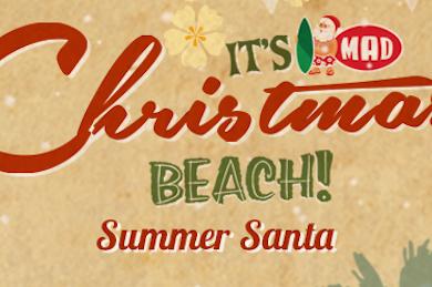 Summer Santa διαγωνισμός από το mad.gr
