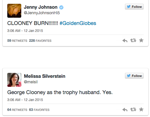 Amy Poehler And Tina Fey Made The Perfect George Clooney Joke