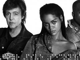 Συνεργασία με Kanye West και Paul McCartney για τη Rihanna!