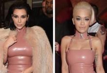 Αμήχανη στιγμή: Kim Kardashian και Rita Ora φόρεσαν το ίδιο φόρεμα στο ίδιο πάρτυ!