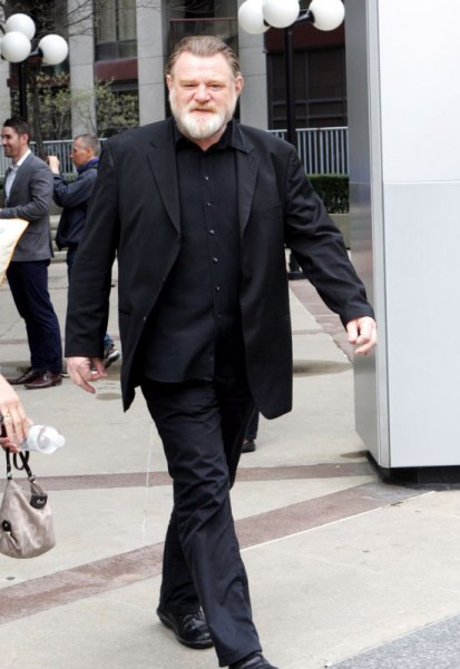 Brendan Gleeson arrives at 'The Morning Show' in Toronto