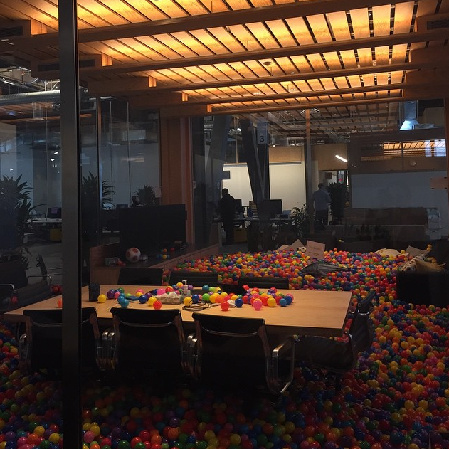 Instagrammers provide the first look inside Facebook s new HQ   The Verge