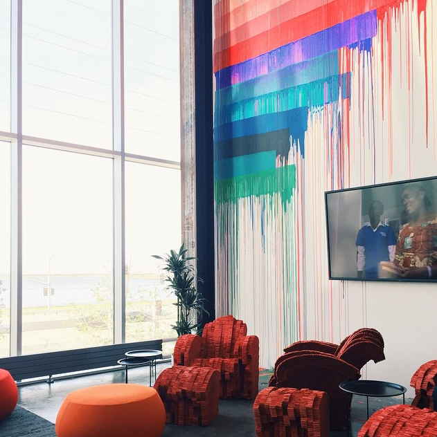 Instagrammers provide thook inside Facebook s new HQ   The Verge
