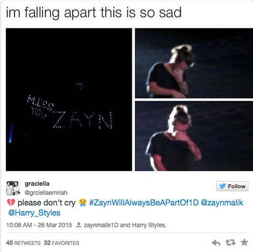 People Are Freaking Because It Looks Like Harry Styles Cried Onstage
