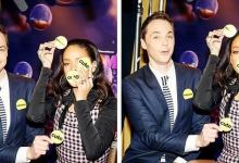 "H Rihanna και ο ""Sheldon"" παίζουν το πιο τρελό παιχνίδι μπροστά στην κάμερα"