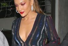 Σούπερ σέξυ η Jennifer Lopez στη βραδινή της έξοδο με τον Casper Smart! Δείτε τη