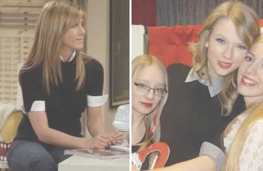 Here s Definiti Proof That Taylor Swift s Style Is Inspired Entirely By  Friends