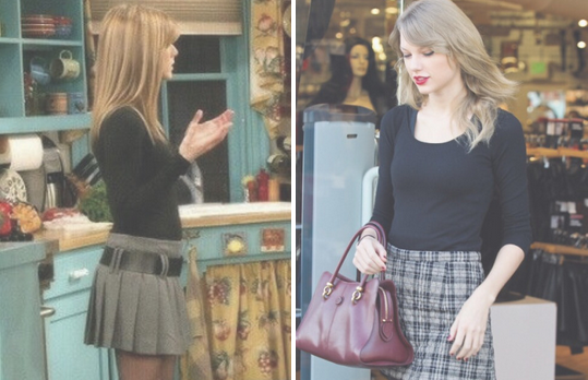 Here s Definitive Pro That Taylor Swift s Style Is Inspired Entirely By  Friends
