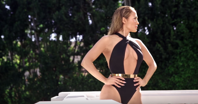 EXCLUSIVE  J. Lo shows off her hot body and tells Us what she looks for in a man    YouTube