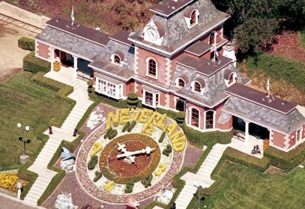 Στο σφυρί για 100 εκατ. δολάρια η Neverland του Michael Jackson! Δείτε τις απίστευτες φωτογραφίες