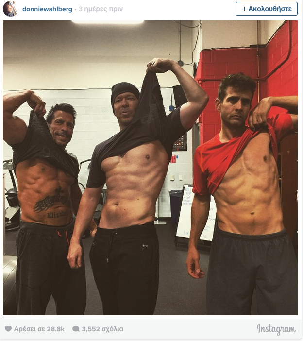 New Kids On The Block Show Off Their Hot Abs