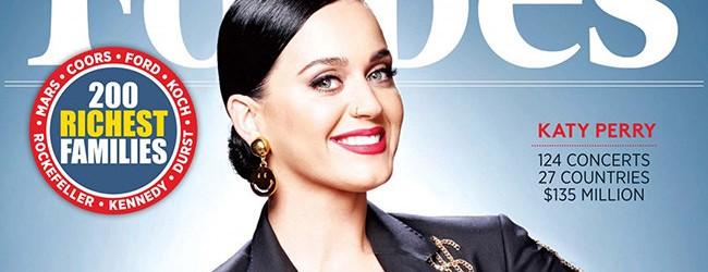 Στην κορυφή του Forbes η Katy Perry!