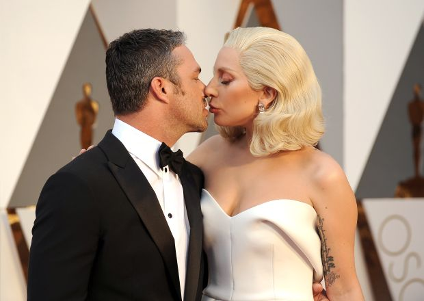 88th Annual Academy Awards held at the Dolby Theater in Los Angeles, CAPictured: Taylor Kinney and Lady GagaRef: SPL1237781 280216 Picture by: Splash NewsSplash News and PicturesLos Angeles: 310-821-2666<BR/