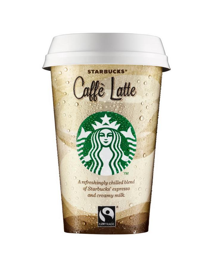 Starbucks Chilled Caffè Latte