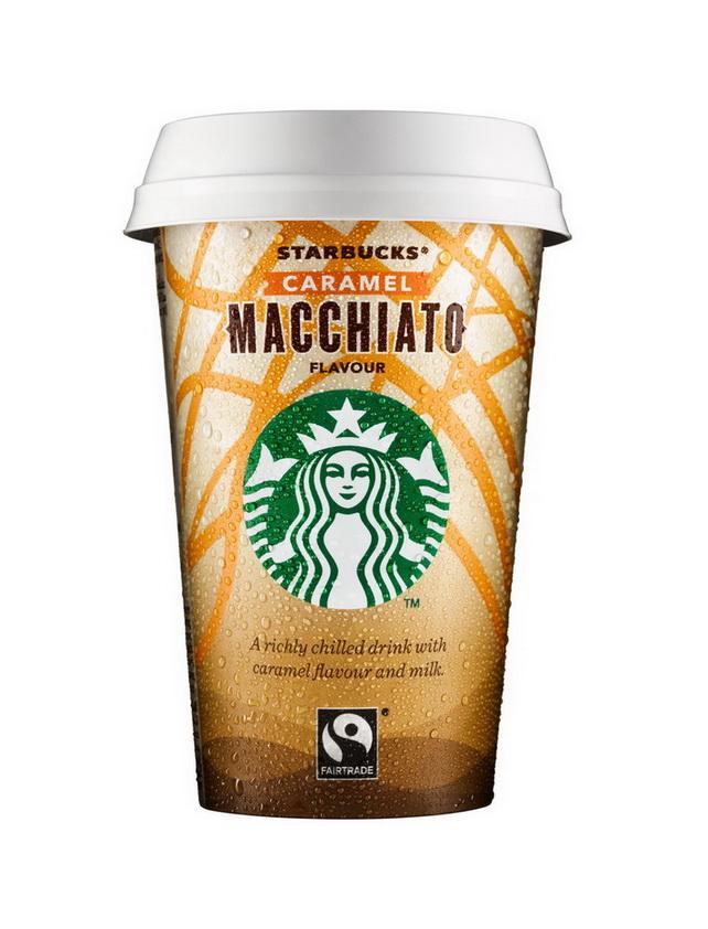 Starbucks Chilled Caramel Macchiato
