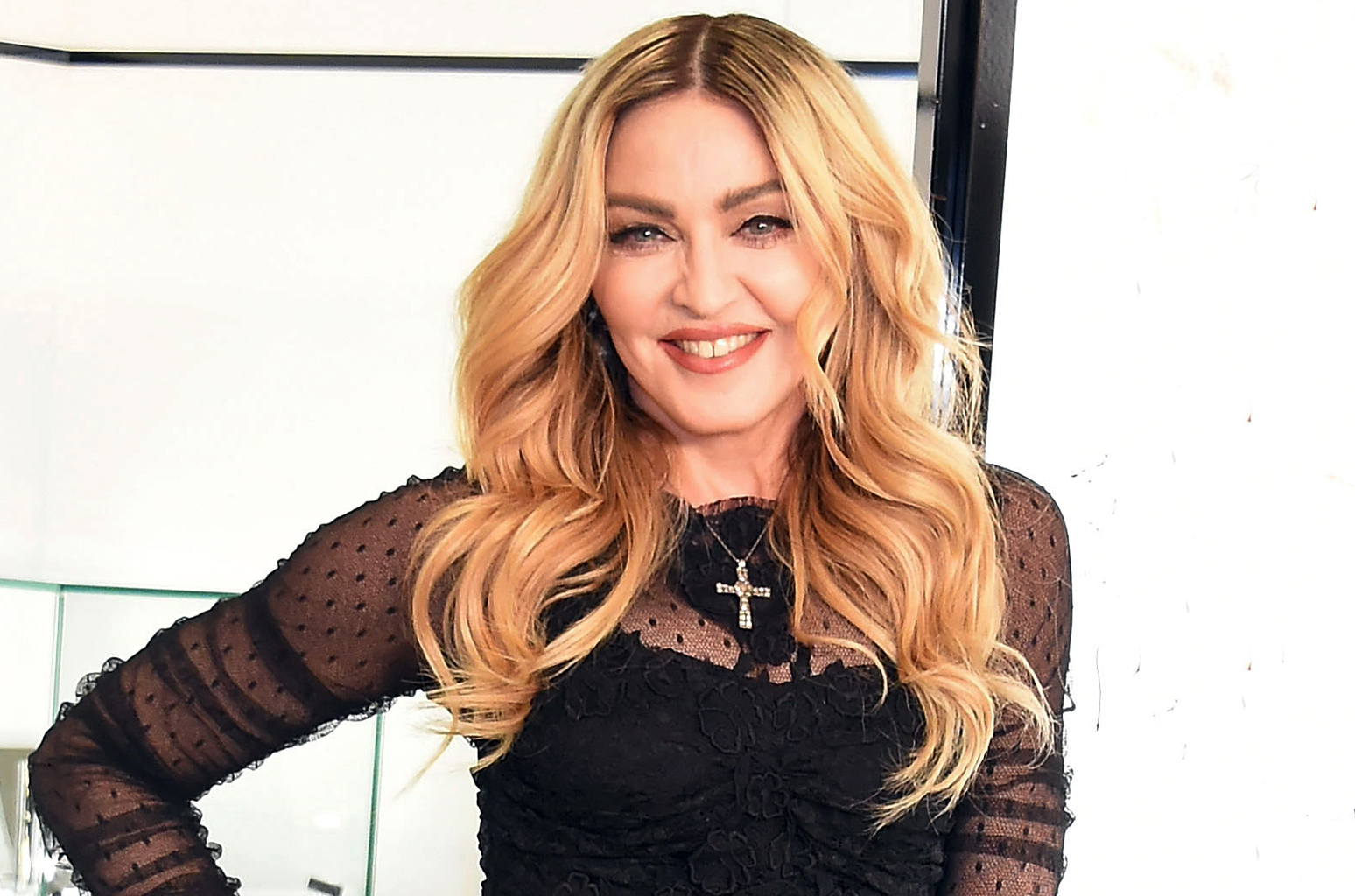 """TOKYO, JAPAN - FEBRUARY 15:  Madonna attends the marketing event for """"MDNA SKIN"""" on February 15, 2016 in Tokyo, Japan.  (picture by Jun Sato/WireImage)"""