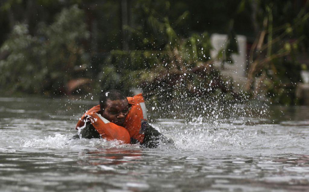 φωτογραφίες από τον τυφώνα Ίρμα