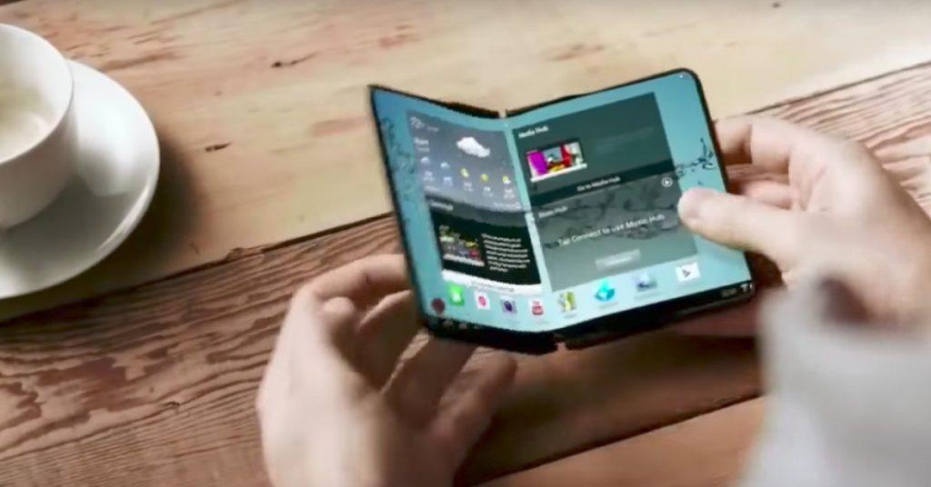 Samsung Galaxy Note που διπλώνει