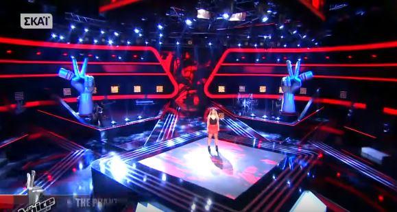 διαγωνιζόμενη επέστρεψε στο Voice για 2η συνεχόμενη χρονιά