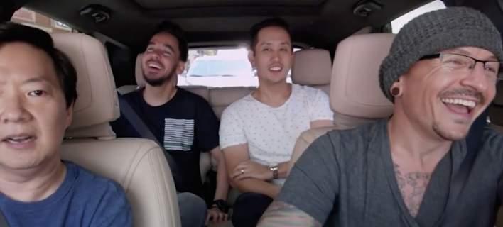 τραγουδιστής των Linkin Park σε carpool karaoke λίγο πριν αυτοκτονήσει
