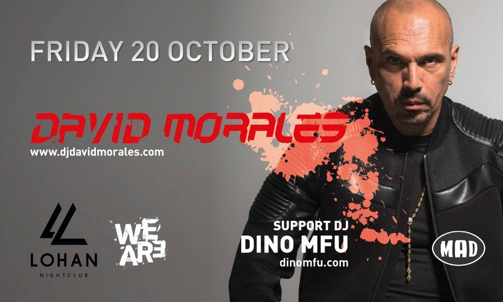 Lohan Night Club παρουσιάζει τον θρυλικό David Morales