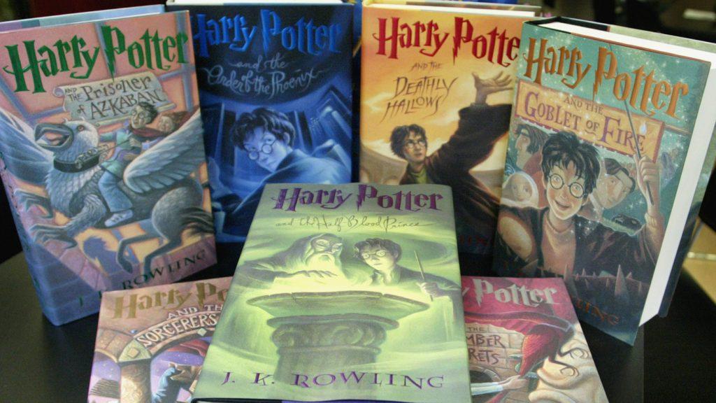 4 διαφορετικά σετ εξωφύλλων του Harry Potter
