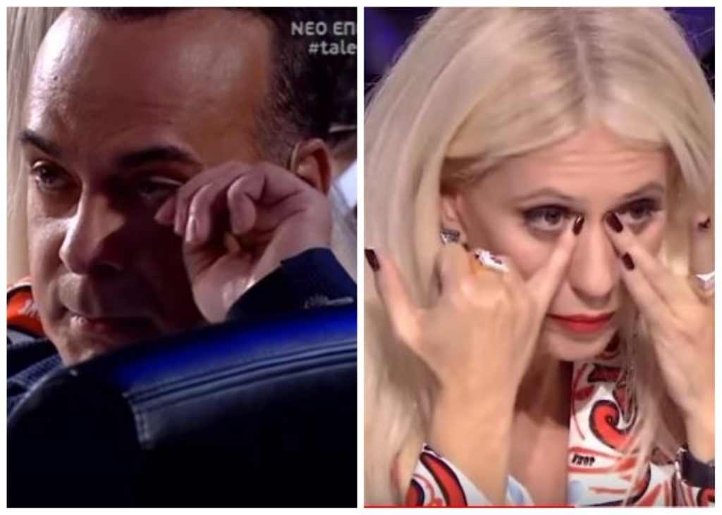 """Κλάματα στο """"Ελλάδα Έχεις Ταλέντο"""" - Λύγισαν Σεργουλόπουλος και Μπακοδήμου!"""