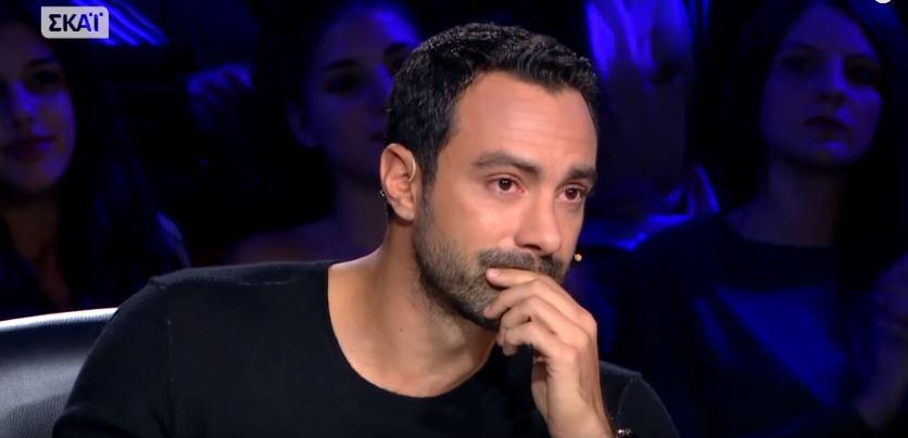Σάκης Τανιμανίδης: Δείτε το λόγο που τον έκανε να βουρκώσει!