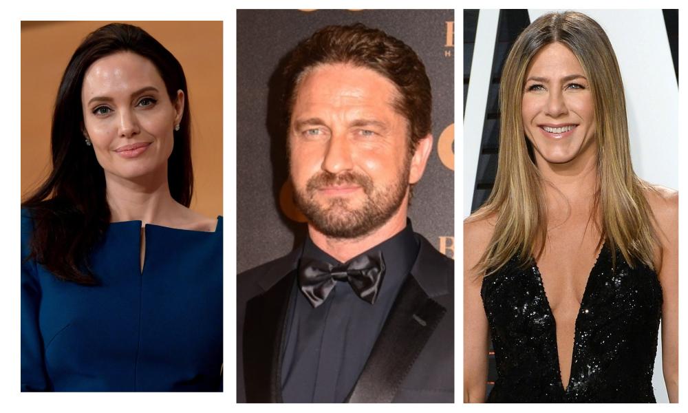 Jennifer Aniston ή Angelina Jolie; O Gerard Butler αποκαλύπτει ποια φιλάει καλύτερα!