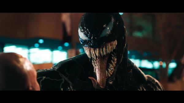 πρώτη μεταμόρφωση του Tom Hardy σε Venom