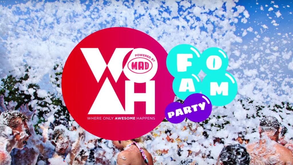 Το πρώτο WOAH Foam Party θα παρουσιάσει η Κατερίνα Στικούδη