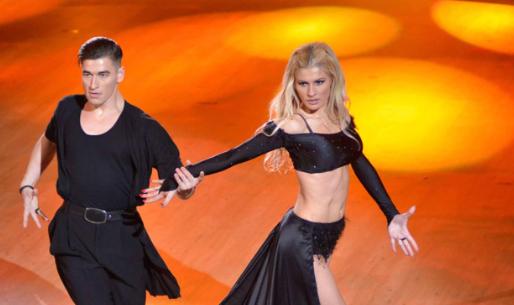 Όλγα Πηλιάκη συμμετείχε στη Eurovision ως χορεύτρια