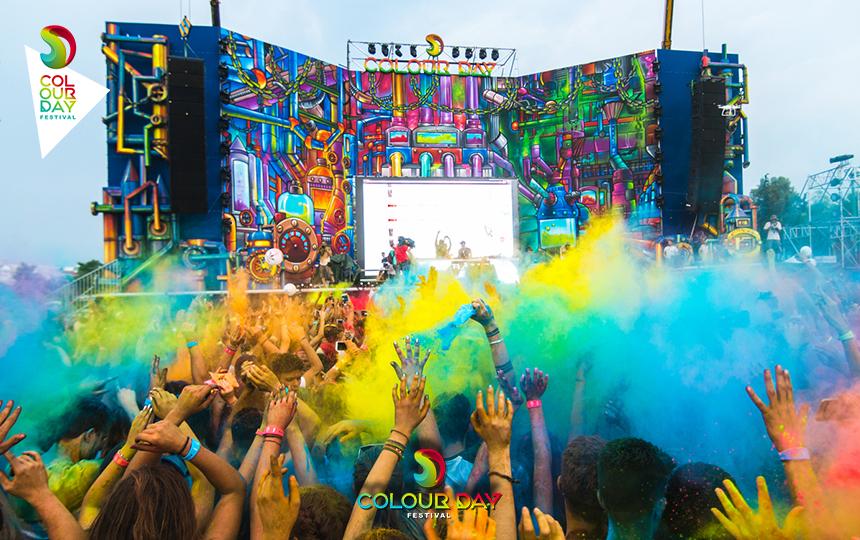 Το μεγαλύτερο χρωματιστό φεστιβάλ της Ελλάδας Colour Day Festival