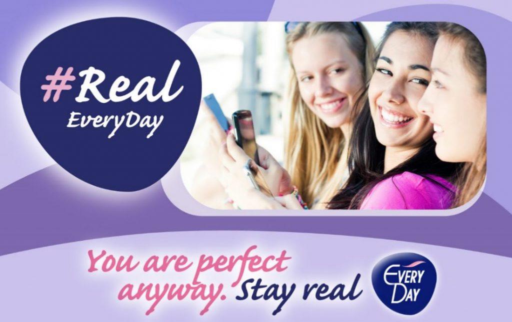 η EveryDay απευθύνεται στα νέα κορίτσια και τους λέει