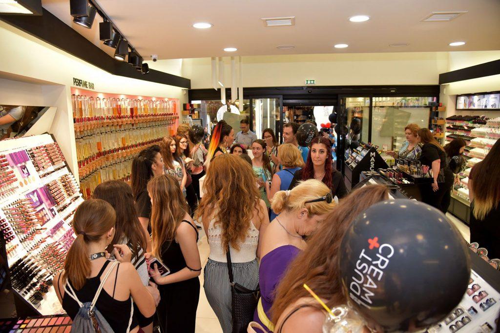 Το κατάστημα DUST+CREAM στο Μαρούσι έκλεισε τα 2 χρόνια λειτουργίας