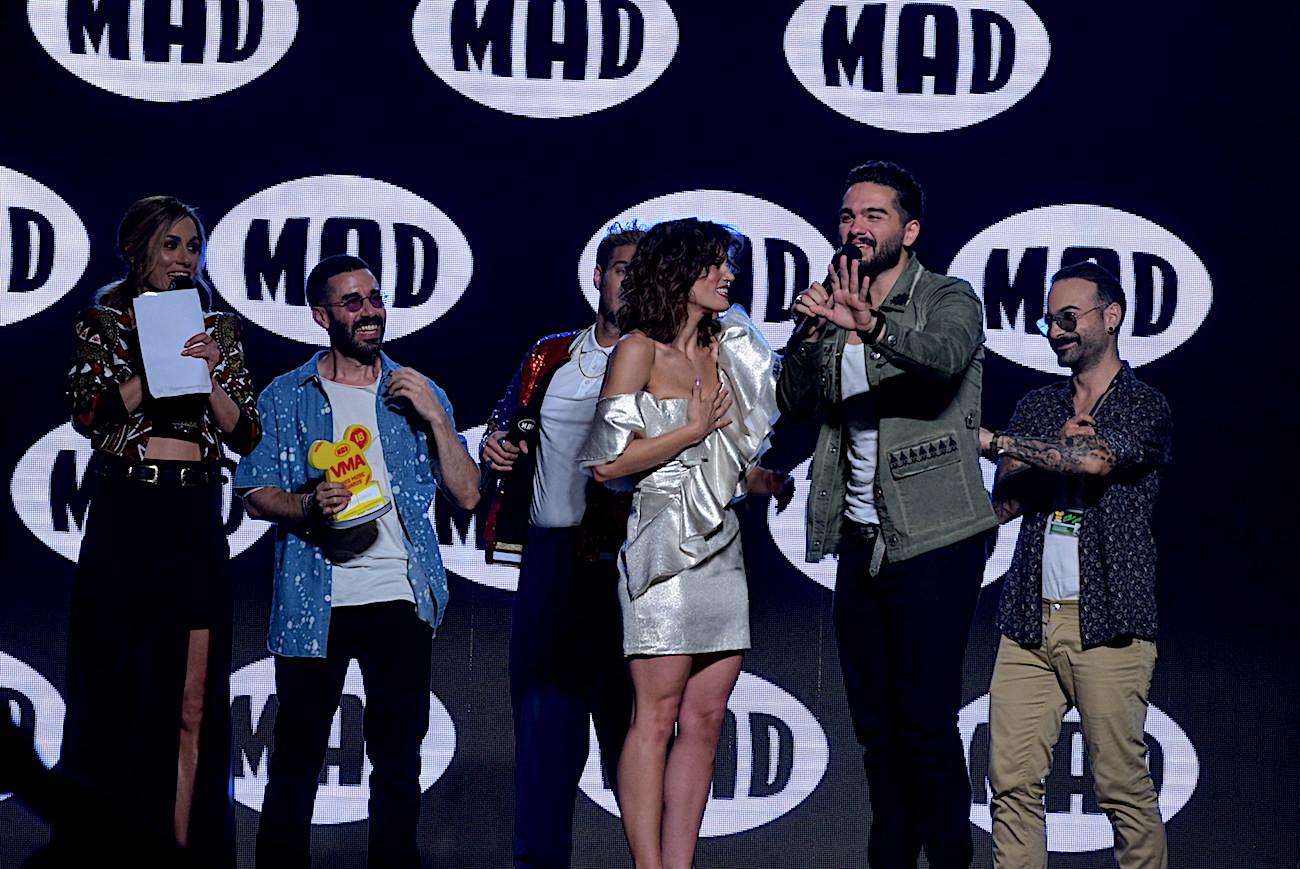 καλύτερες φωτογραφίες από τα Mad Video Music Awards 2018