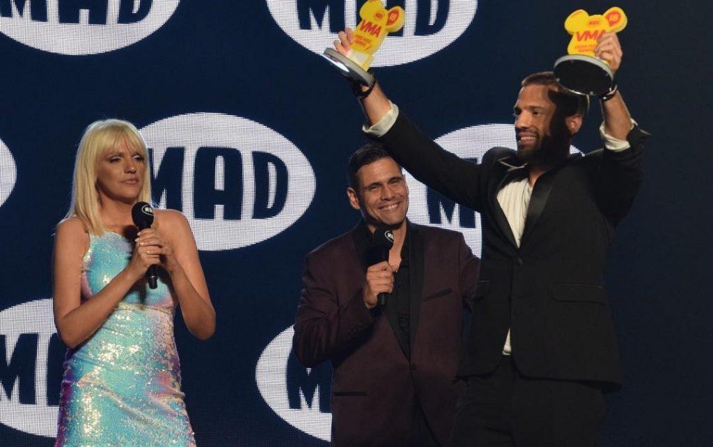 """Κωνσταντίνος Αργυρός έκανε """"Λιώμα"""" τα Mad Video Music Awards 2018 by Coca-Cola and McDonald's"""