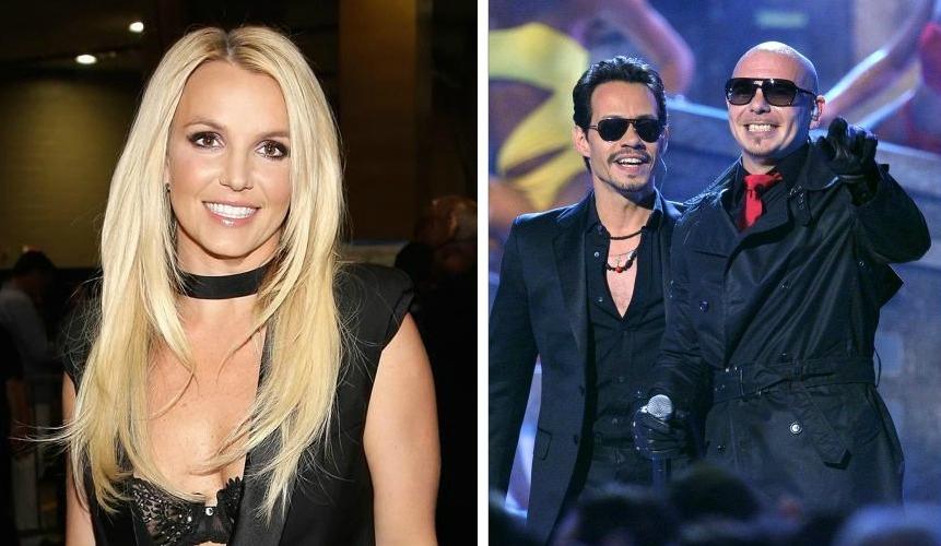 Νέο τραγούδι από Britney Spears, Pitbull, Marc Anthony