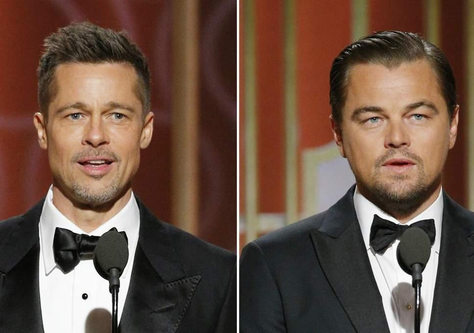 Αγνώριστος ο Brad Pitt στην πρώτη φωτογραφία από την νέα ταινία με τον Leonardo DiCaprio!