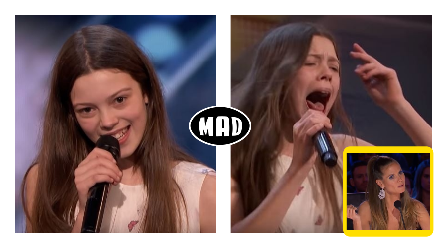 """13χρονη που """"τα 'σπασε"""" στο America's Got Talent"""